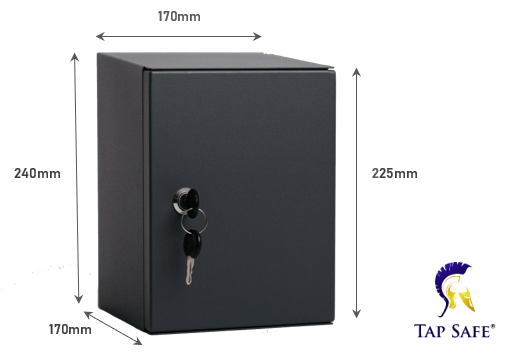 Tap Safe garden security tap box cover dimensions